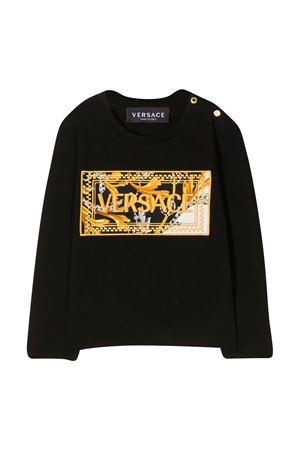 Black T-shirt baby Young Versace  YOUNG VERSACE | 8 | YA000209YA00019A2003