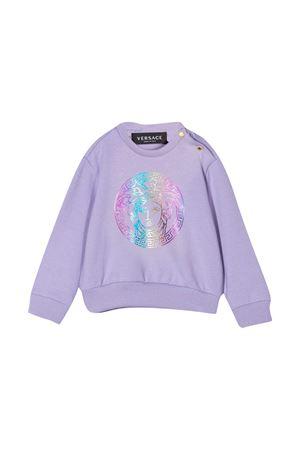 Lilac sweatshirt Young Versace baby YOUNG VERSACE | -108764232 | YA000216YA00077A1313