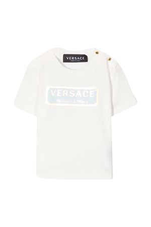 White t-shirt Young Versace YOUNG VERSACE | 8 | YB000178YA00019A7821