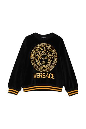 Felpa nera Young Versace YOUNG VERSACE | -108764232 | YC000336A234728A1008