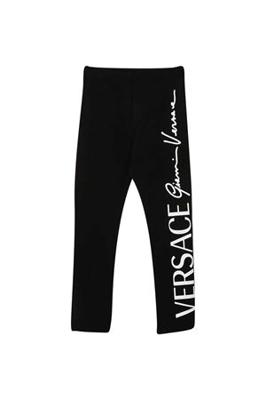 Young Versace black leggings YOUNG VERSACE | 9 | YC000389A234592A1008
