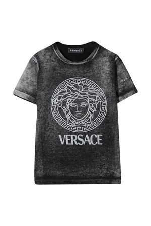 Black T-shirt Young Versace  YOUNG VERSACE | 8 | YD000251YA00079A1008