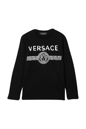 Black T-shirt Young Versace  YOUNG VERSACE | 8 | YD000276YA00079A1008