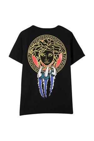 Black t-shirt Young Versace  YOUNG VERSACE | 8 | YD000282YA00079A1008