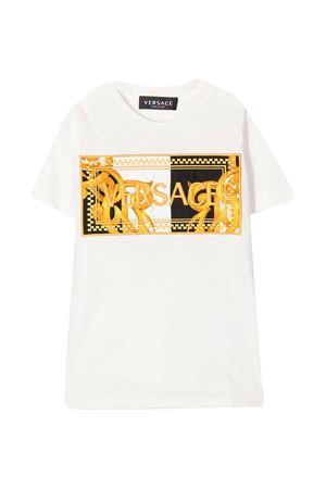 White t-shirt Young Versace  YOUNG VERSACE | 8 | YD000283YA00079A2088