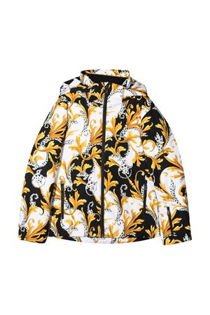 Patterned down jacket Young Versace YOUNG VERSACE | 783955909 | YD000301A235828A7027