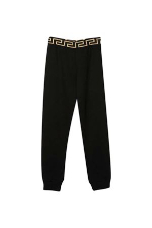 Joggers neri Young Versace YOUNG VERSACE | 9 | YD000334YA00078A1008