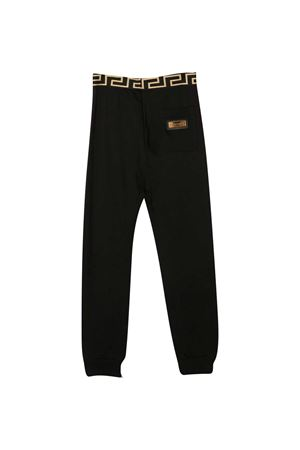 Joggers neri teen Young Versace YOUNG VERSACE | 9 | YD000334YA00078A1008T
