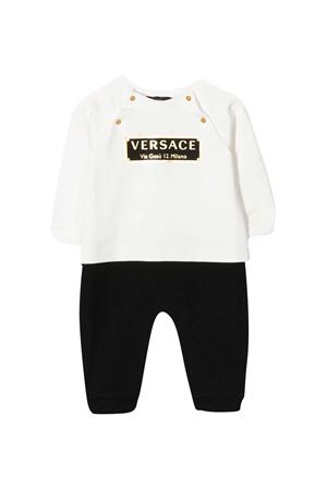 Black and white onesie Young Versace YOUNG VERSACE | 1491434083 | YE000197YA00077A2048