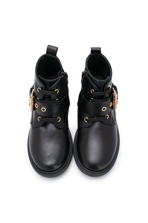 Black boots Young Versace kids YOUNG VERSACE | 76 | YGX00046YB00238YS95F