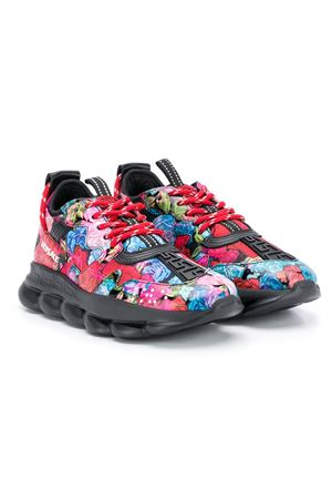 Sneakers multicolor teen modello Chain reaction Young Versace YOUNG VERSACE | 90000020 | YHX00002YB00363YA04T