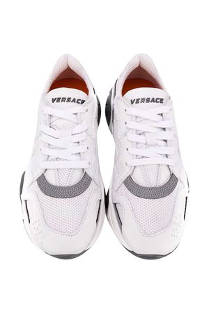 White sneakers teen Young Versace  YOUNG VERSACE | 90000020 | YHX00029YB00377YS01T
