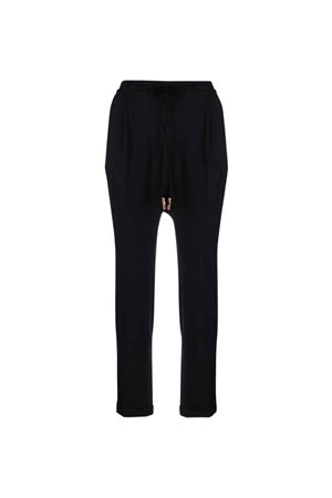 Pantalone donna nero ALYSI | 9 | 151116A1041NE