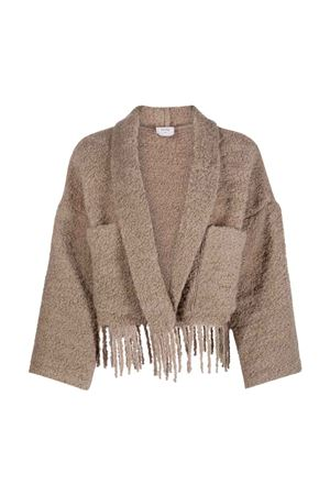 Giacca beige donna ALYSI | 1727151018 | 151914A1048TAUPE