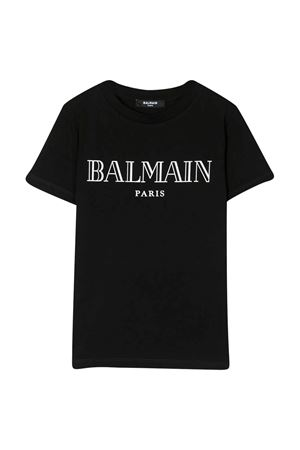 T-shirt nera unisex BALMAIN KIDS | 8 | 6M8721MX030930