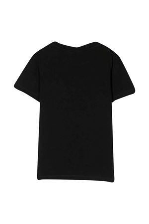 T-shirt nera teen BALMAIN KIDS | 8 | 6M8721MX030930T