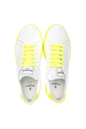 Sneakers bianche teen BALMAIN KIDS | 12 | 6P0576Y0009100GLT