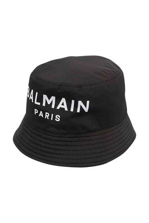 Cappello nero unisex BALMAIN KIDS | 75988881 | 6P0667N0041930