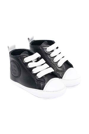 Sneakers nere con applicazione BALMAIN KIDS | 12 | 6P0A46Y0013930
