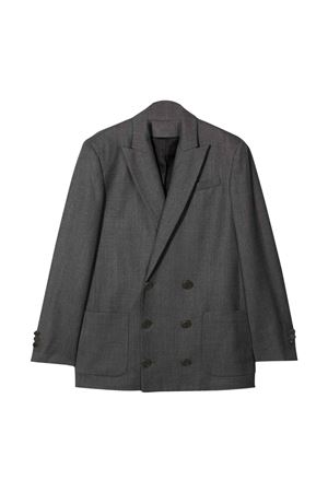 Balmain kids teen gray jacket  BALMAIN KIDS | 3 | 6P2517I0008912T
