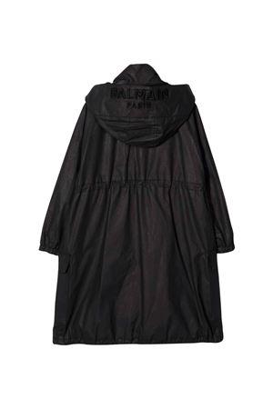 unisex black trench coat  BALMAIN KIDS | 13 | 6P2530B0002930