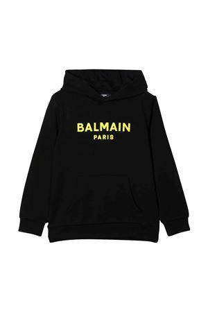 black teen sweatshirt BALMAIN KIDS | -108764232 | 6P4540Z0002930GLT