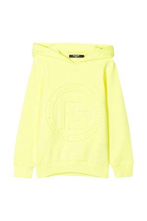 Balmain kids unisex yellow sweatshirt BALMAIN KIDS | -108764232 | 6P4590Z0001290