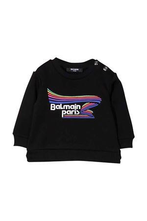 blue newborn sweatshirt  BALMAIN KIDS | -108764232 | 6P4A20Z0001930