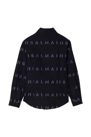 Camicia nera unisex BALMAIN KIDS   5032334   6P5500P0039930BC
