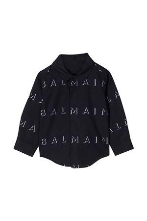 Camicia nera neonato BALMAIN KIDS   5032334   6P5A10P0039930BC
