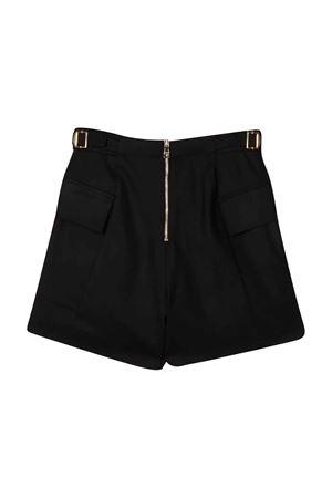 Black bermuda shorts teen BALMAIN KIDS | 30 | 6P6229I0024930ORT