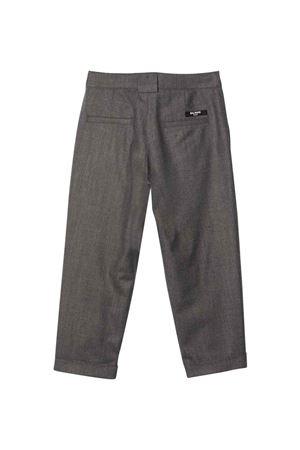 gray teen trousers  BALMAIN KIDS | 9 | 6P6550I0008912T