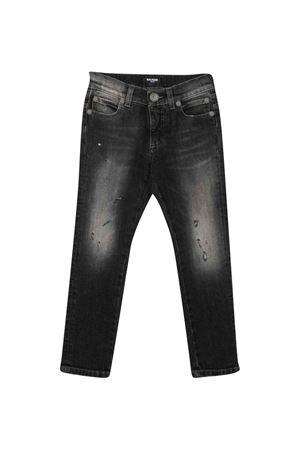 Grey jeans BALMAIN KIDS   9   6P6770D0004918