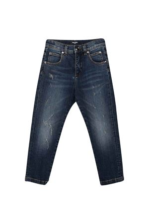 Dark blue jeans BALMAIN KIDS   9   6P6780D0004620T
