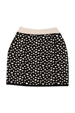 Black and beige teen skirt BALMAIN KIDS   15   6P7010X0001930BGT