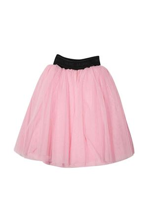 Pink skirt with black elastic band BALMAIN KIDS   15   6P7090T0002510