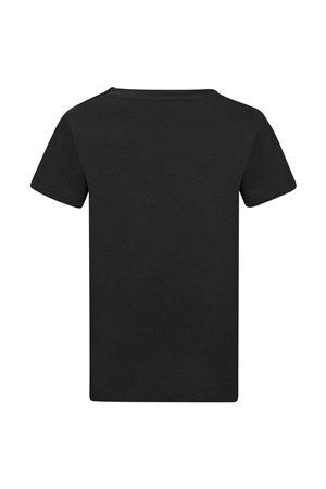 unisex black t-shirt  BALMAIN KIDS | 8 | 6P8111J0006930