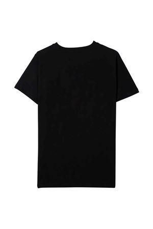 black teen t-shirt  BALMAIN KIDS | 8 | 6P8541Z0003930GLT