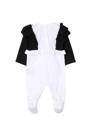 newborn white onesie  BALMAIN KIDS | 75988878 | 6P8810J0006930BC