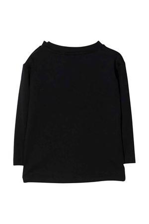 Black newborn sweatshirt  BALMAIN KIDS | 8 | 6P8A50Z0057930GL