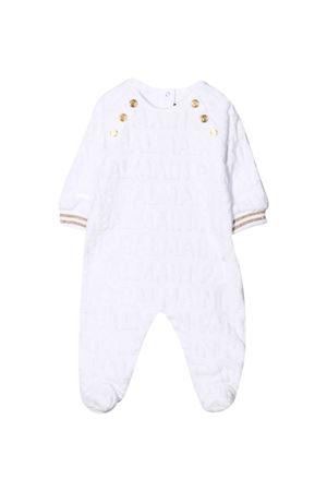 White baby jumpsuit  BALMAIN KIDS | 1491434083 | 6P8B40V0022100