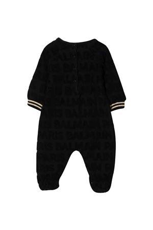 Black baby jumpsuit  BALMAIN KIDS | 1491434083 | 6P8B40V0022930