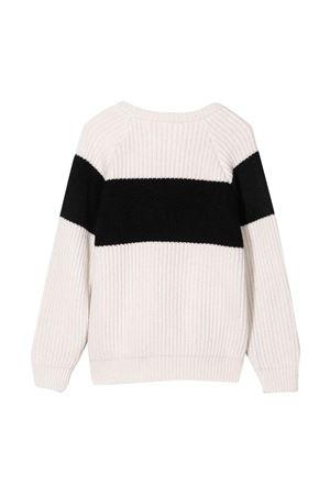 Maglione unisex bianco BALMAIN KIDS | 7 | 6P9050W0002101NE