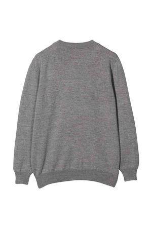 unisex gray sweatshirt  BALMAIN KIDS | 7 | 6P9500W0024911T