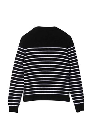 teen striped sweater  BALMAIN KIDS | 7 | 6P9550W0031930BCT