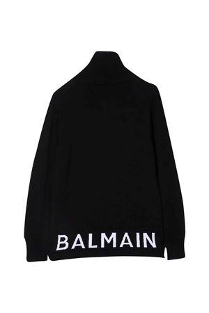 Maglione nero bambino BALMAIN KIDS | 7 | 6P9570W0031930BC