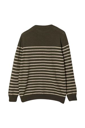 unisex striped sweater  BALMAIN KIDS | 7 | 6P9590W0031720OR