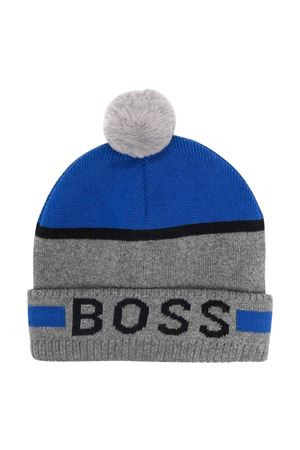 Cappello grigio unisex BOSS KIDS | 75988881 | J01122A45