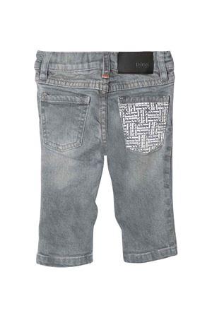 newborn gray jeans BOSS KIDS | 9 | J0438AZ20