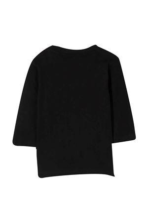 T-shirt nera con stampa BOSS KIDS | 8 | J0587209B